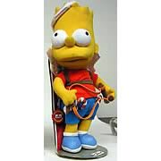 Simpsons Holiday Bart Plush