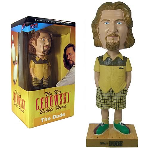 Big Lebowski The Dude (Bowling Shirt) Bobble Head