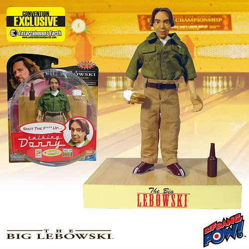 Big Lebowski Talking Donny <b>Action</b> Figure - EE SDCC Exclusive
