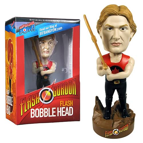 Flash Gordon The Movie Flash Bobble Head