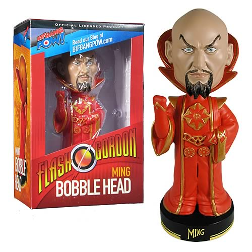 Flash Gordon The Movie Ming Bobble Head