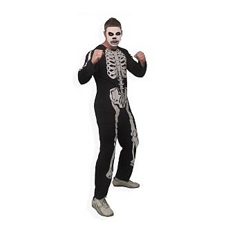 Karate Kid Cobra Kai Skeleton Adult Costume