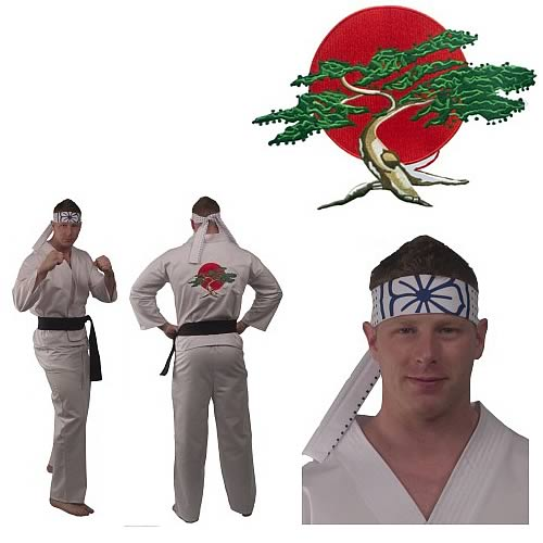 Karate Kid Daniel-San Adult Gi Costume