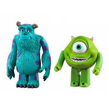 Monsters Inc Sully and Mike Kubrick 2-Pack