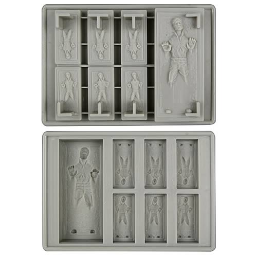 Star Wars Han Solo in Carbonite Silicon Tray