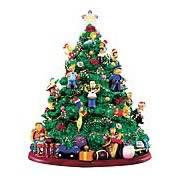 Simpsons: Lighted Christmas Tree Mini Statue