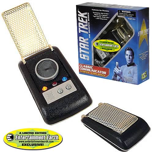 EE Exclusive Star Trek Original Series Communicator Replica