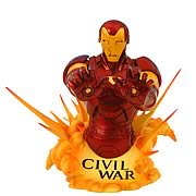 Marvel Universe Civil War Iron Man Bust
