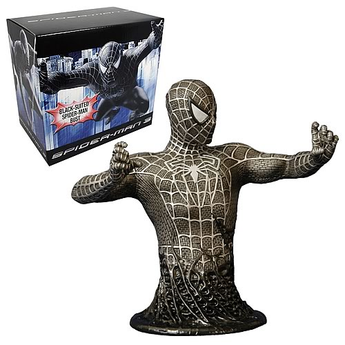 <b>Spider-Man</b> 3 Black <b>Spider-Man</b> Bust