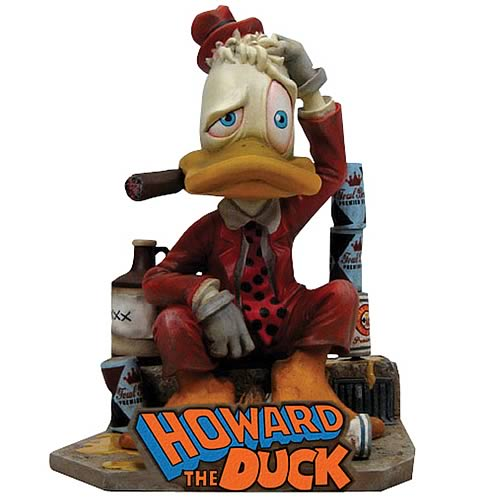 Marvel Max Howard The Duck Statue