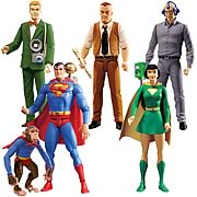 Superman Silver Age Action Figures Series 1 Case