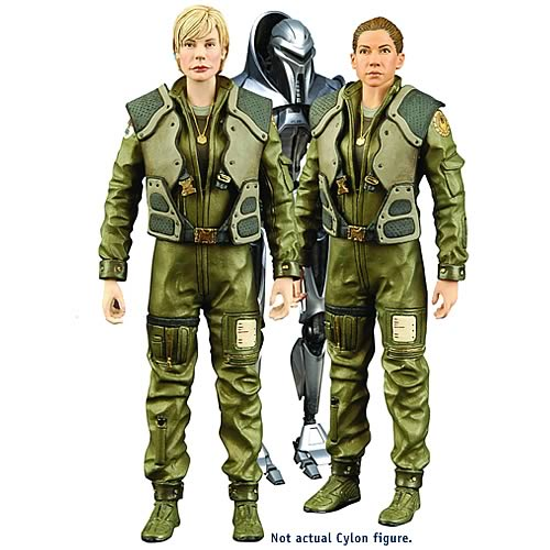Battlestar Galactica Series 2 Action Figure Case
