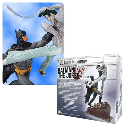 <b>Batman</b> vs. The Joker Statue