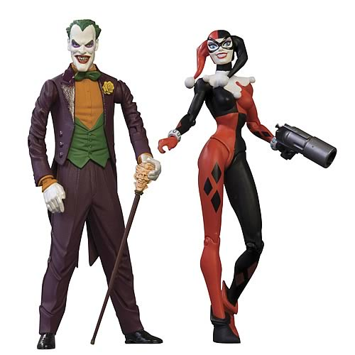 Batman Mad Love Action Figures Collectors Set