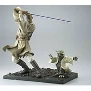 Kotobukiya Mace Windu & Yoda Model Kit