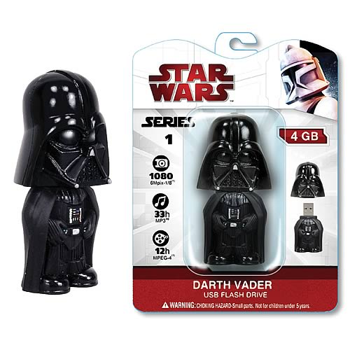 Star Wars Darth Vader 2 GB USB Flash Drive