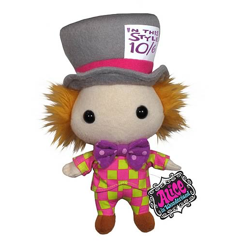 Alice in Wonderland Mad Hatter Plush