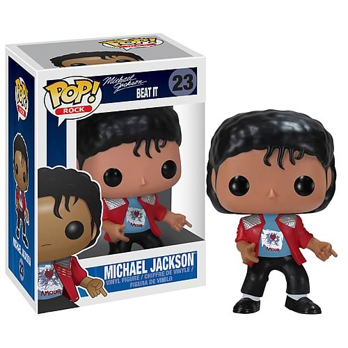 Michael Jackson Beat It Pop! Vinyl Figure