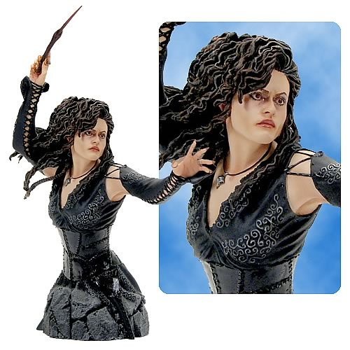 Harry Potter <b>Bell</b>atrix Lestrange Mini Bust