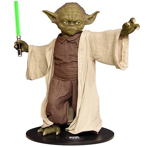 Star Wars <b>Life</b> Size Yoda Monument