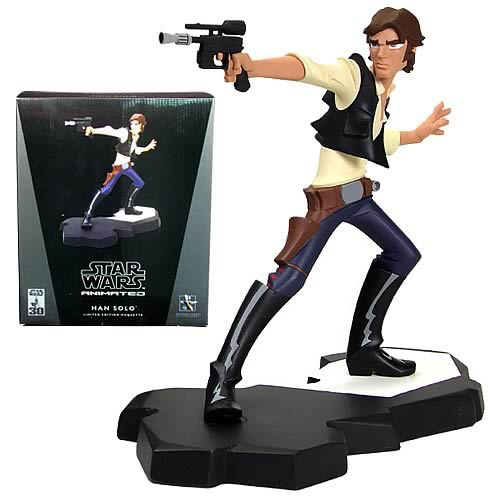 Star Wars Han Solo Animated Maquette