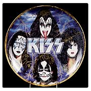 KISS 10 1/4-inch Artist Proof Signed Plate
