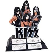 KISS 10-inch Signed Figurine
