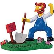 Simpsons Make Way for Willie! Mini Statue