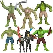 Incredible Hulk Basic Movie Action Figures Wave 2