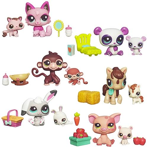 Littlest Pet Shop Baby & Mommy Pets Wave 2