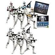 Exclusive SW Clone Trooper Troop Builder Set