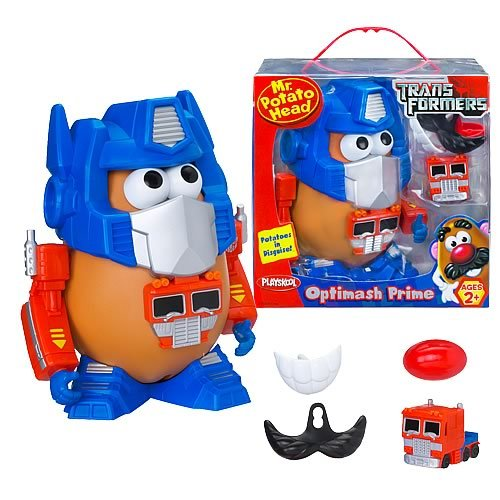 Transformers Optimash Prime Mr. Potato Head