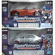 Transformers Side Swipe & Silverstreak Set