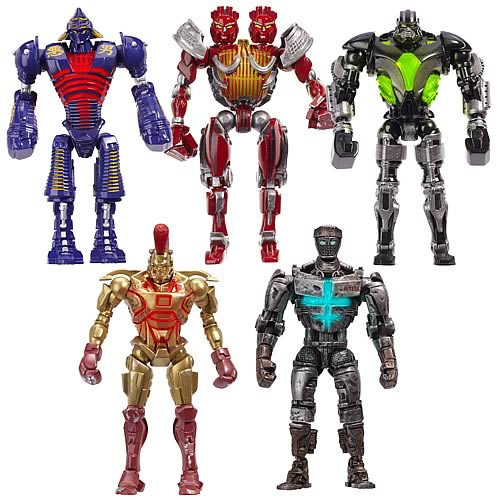 Real Steel Movie Basic Figures Wave 1 Case
