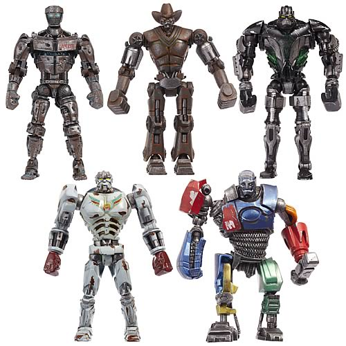 Real Steel Movie Basic Figures Wave 2 Case