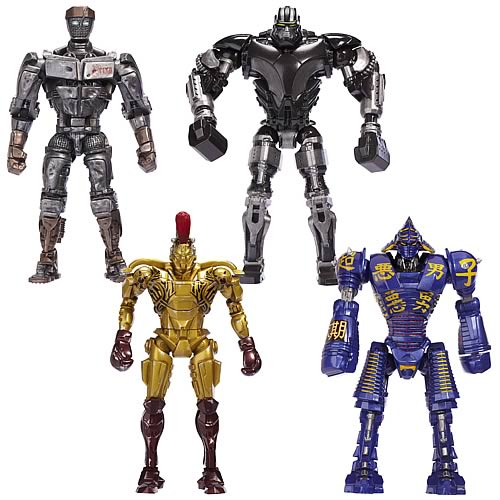 Real Steel Movie Deluxe Figures Wave 1 Set