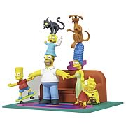 Simpsons Couch Gag Deluxe Box Figure Set