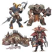 Warriors of the Zodiac Series 1 Action Figure Set