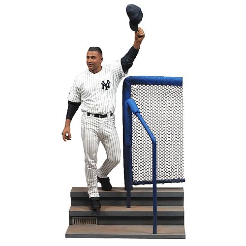 MLB Derek Jeter Collectors Edition Action Figure Box