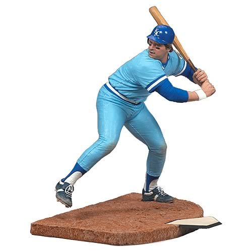 MLB Cooperstown 2009 Wave 1 George Brett Action Figure