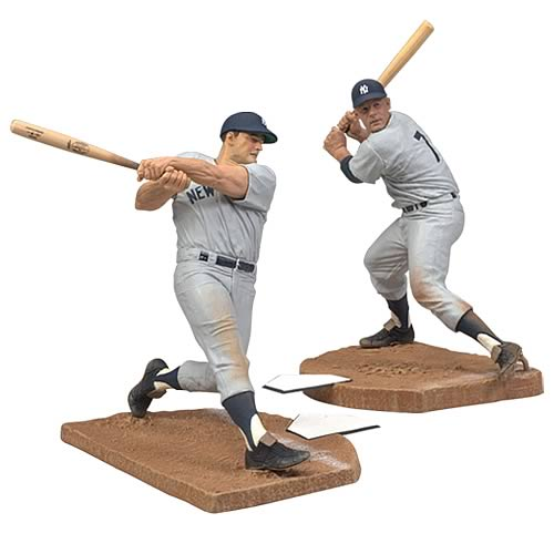 MLB Collector's Edition Mickey Mantle and Roger Maris 2-Pack