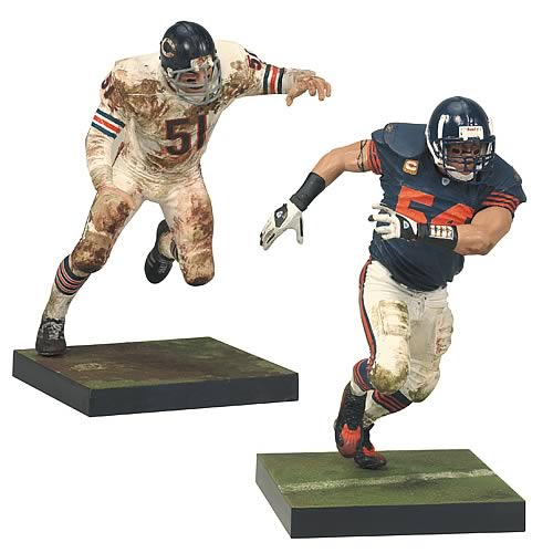 NFL Dick Butkus and Brian Urlacher 2 Figures 2-Pack