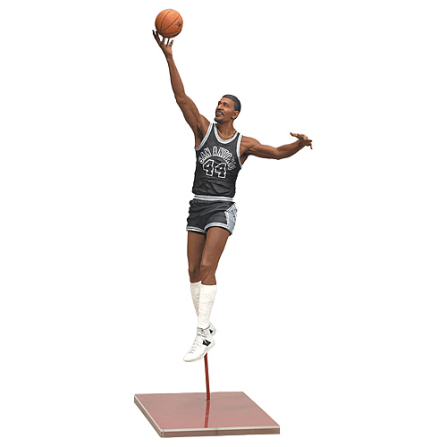 NBA Legends Series 4 George Gervin Action Figure