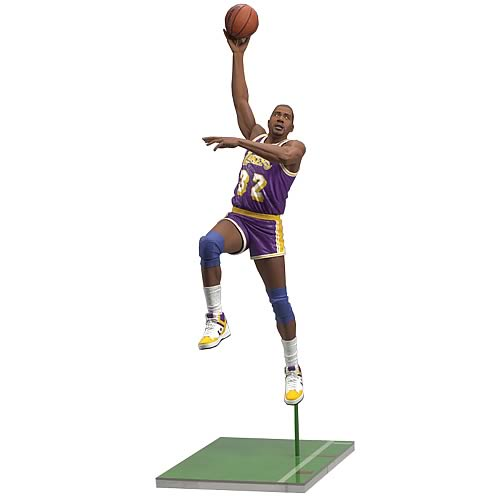 NBA Legends Series 5 Magic Johnson 2 Action Figure