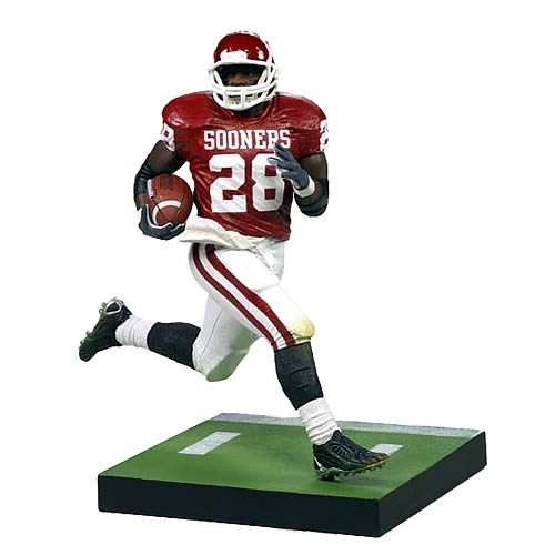 NCAA College Football Series 1 Adrian Peterson Action Figure