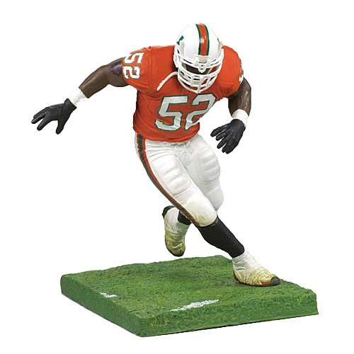 NCAA College Football Series 1 Ray Lewis Action Figure