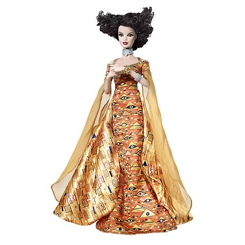 Barbie Art Klimt Doll