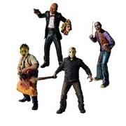 Cinema of Fear Action Figures Wave 1
