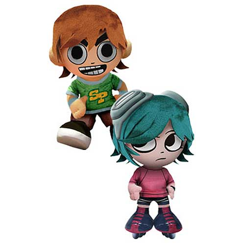 Scott Pilgrim vs. The World 8-Inch Plush Set