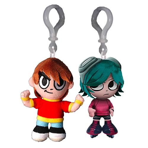 Scott Pilgrim vs. The World Plush Clip-Ons Set